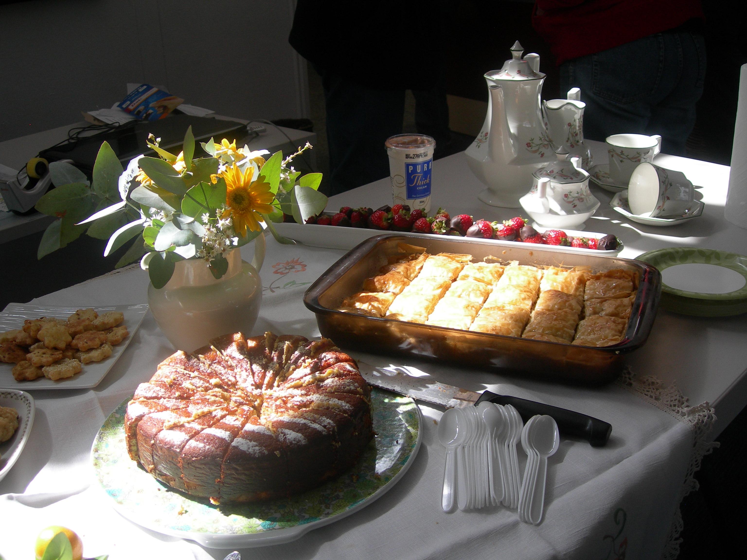 morning meditation tea table - photo #1